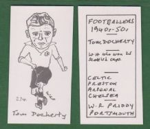 Glasgow Celtic Tommy Docherty Scotland 234
